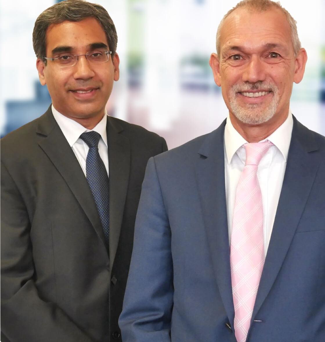 WA Paediatric Surgeons Naeem Samnakay & Andrew Barker